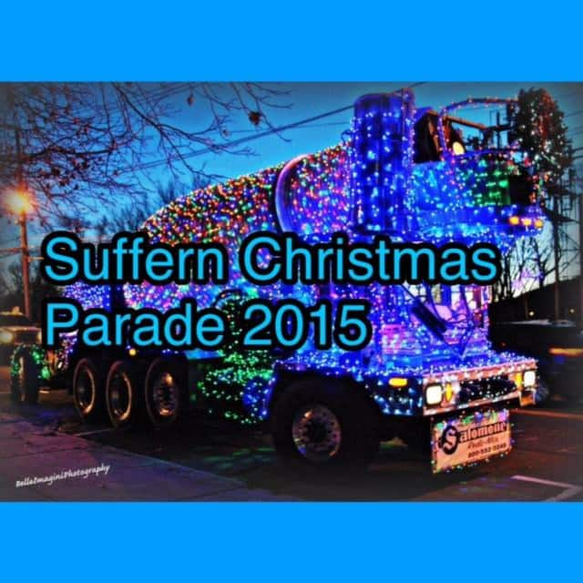 The Suffern Christmas Parade 2015 will culminate in a tree lighting ceremony.