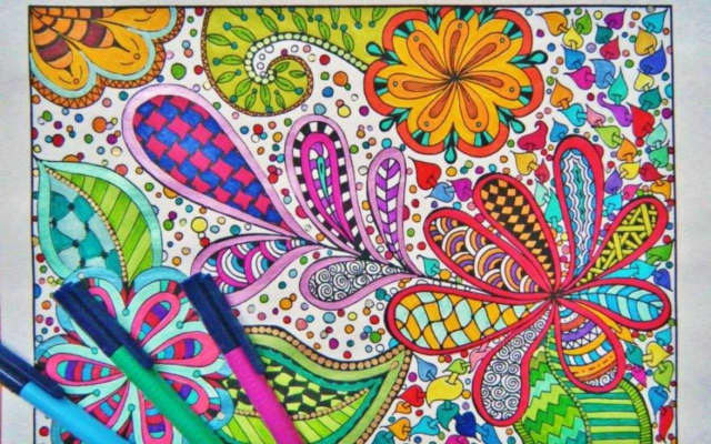 The Grinnell Library in Wappingers Falls is having an adult coloring workshop.