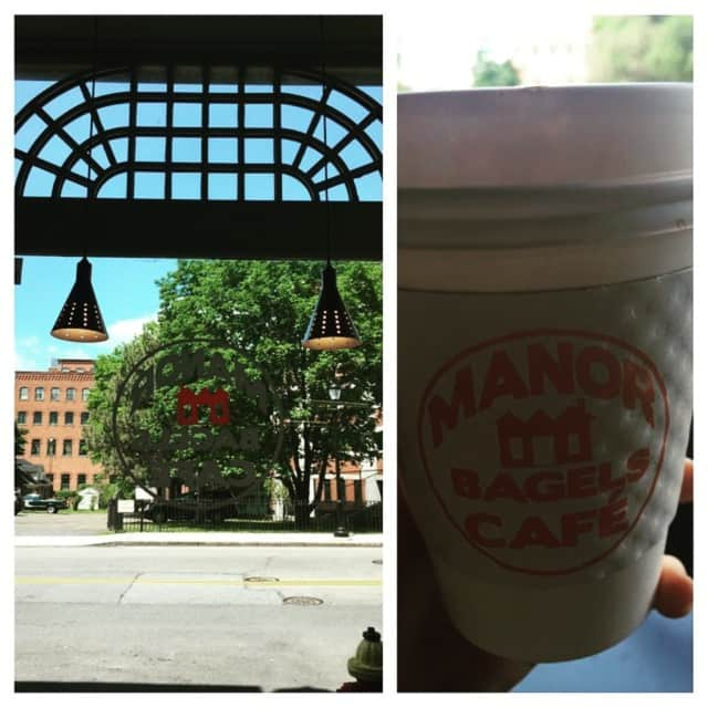 A downtown Yonkers tour will begin at Manor Bagels Cafe.