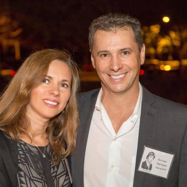 Dr. Ray Milazzo, here with his wife, will speak at the Wyckoff Chamber's meeting.