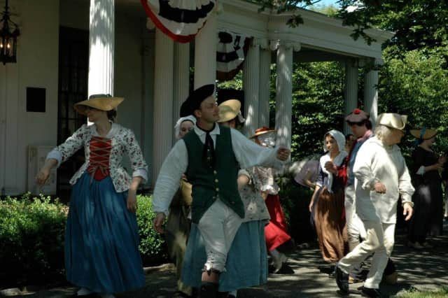 The Ringwood Manor celebrates Fourth of July.