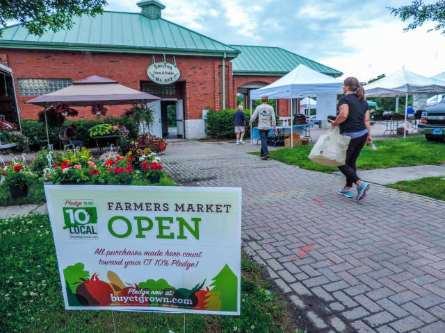 The Shelton Farmers Market is now open onThursdays.