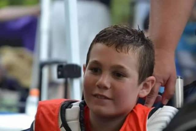 Jake Rudd, 13, of Wayne has a rare bone cancer.