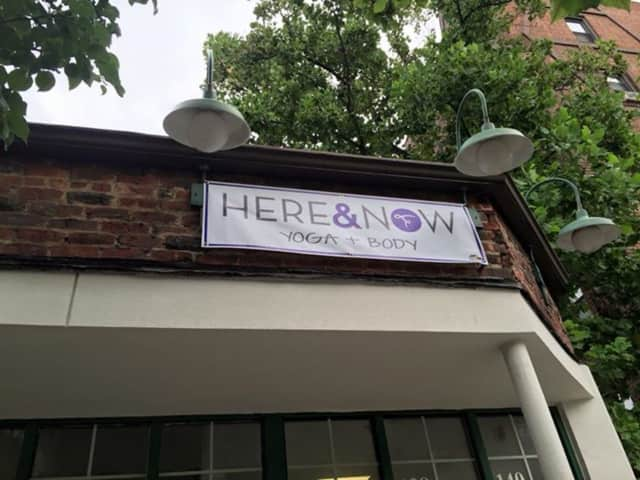 The new yoga studio is set for a Sept. 2 grand opening on Garth Road in Scarsdale.