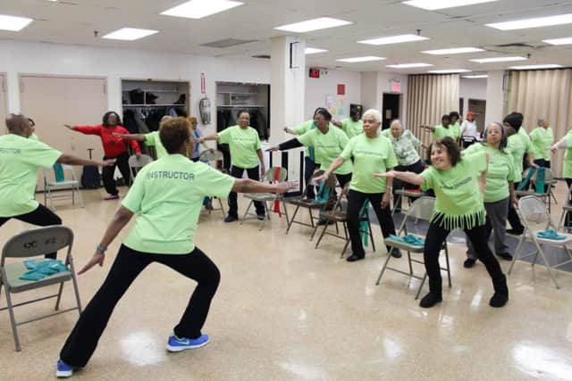 Health experts say exercise can improve balance for adults and prevent falls.