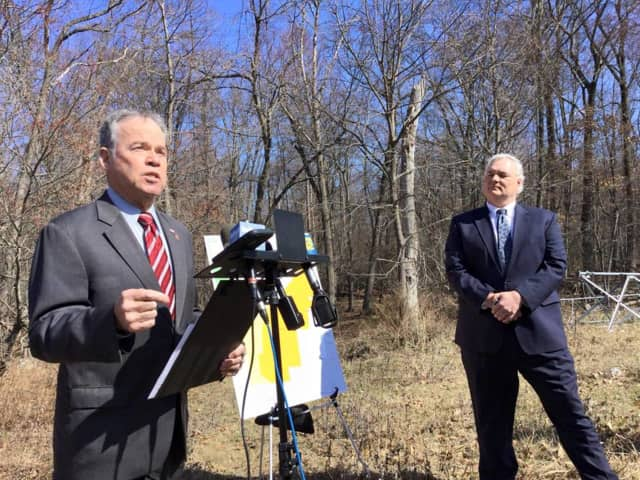 Rockland County Executive Ed Day and County Attorney Thomas Humbach announced they are cracking down on property owners who owe back taxes.