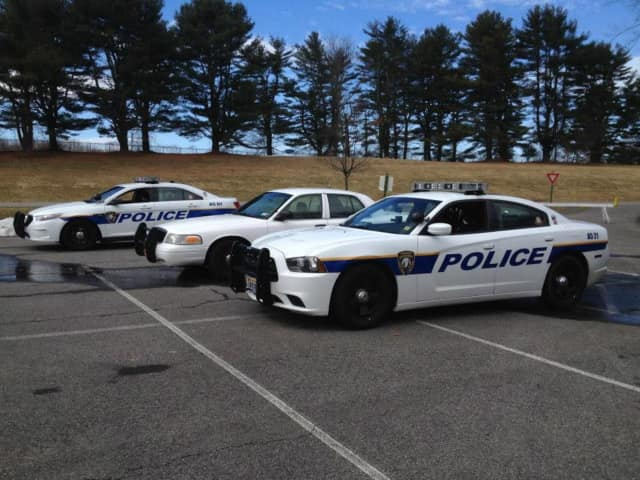 Yorktown police arrested a Somers man for hitting another car in a parking lot and leaving the scene of the accident.