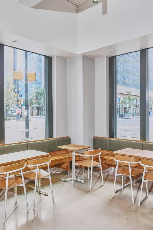 Sweetgreen's new digs on Hudson Street in Jersey City.