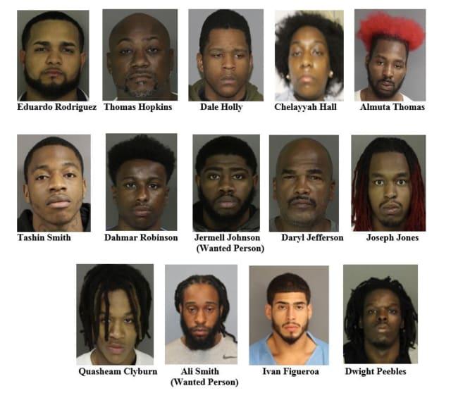 Newark arrests