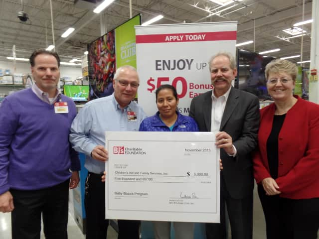 As part of its quarterly grant cycle, BJ's Charitable Foundation awarded Children's Aid and Family Services $5,000.