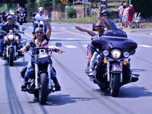 The CT United Ride will wind through 10 communities.