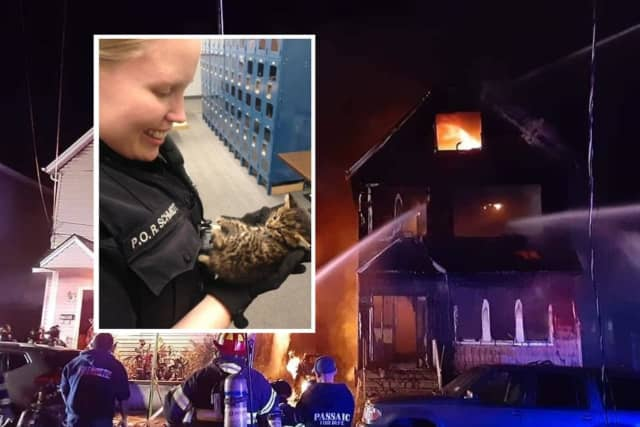 Responders Rally For Popular Garfield Police Officer Who Lost Cats Home In Fierce Fire Garfield Lodi Daily Voice