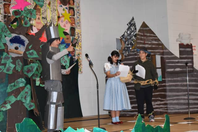 "Pines Bridge and Walden students performed ""The Wizard of Oz."""