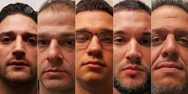 John Clarizio, Giovanni Casillo, Jesse McKeough, Marco Zarfino, Vasilios Theofanidis