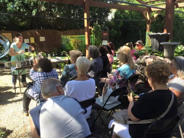 Learn gardening in Bloomingdale he Bloomingdale Senior Center gardens.