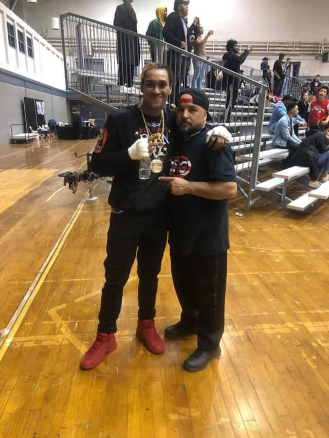 Raymond Sierra (left) was identified as the man shot and killed in Bridgeport