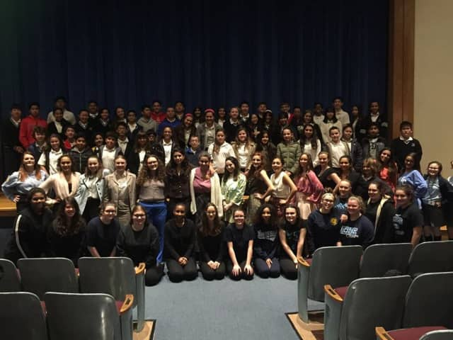 """Lodi Immaculate Conception High School students performed """"12 Angry Jurors."""""""