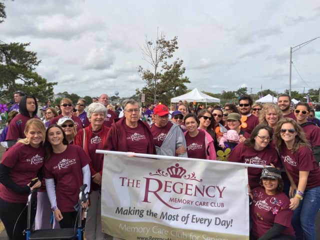 The Regency Memory Care Club, which opens Sunday in River Edge, sponsored the Walk to End Alzheimer's Disease in Paramus.