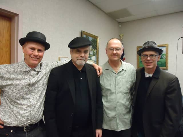 """""""The Frost Kings""""are an R&B, swing and blues band"""