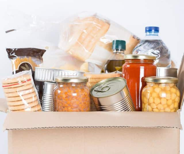 Curves is holding its annual food drive through the end of March.