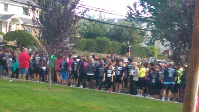 Runners and walkers took part in the Eastchester 5K Run.