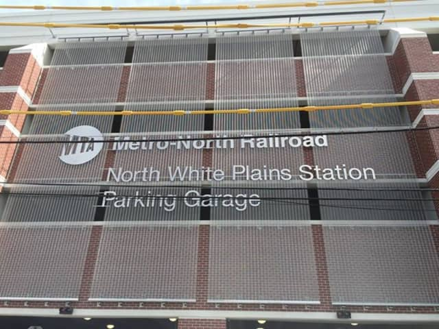 The new parking garage at the North White Plains Metro-North station is open.