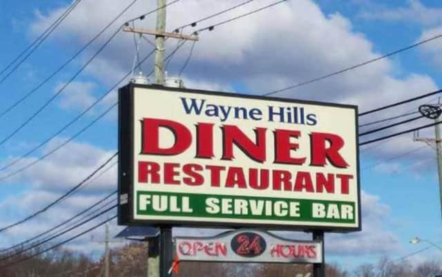 Wayne Hills Diner on Hamburg Turnpike.