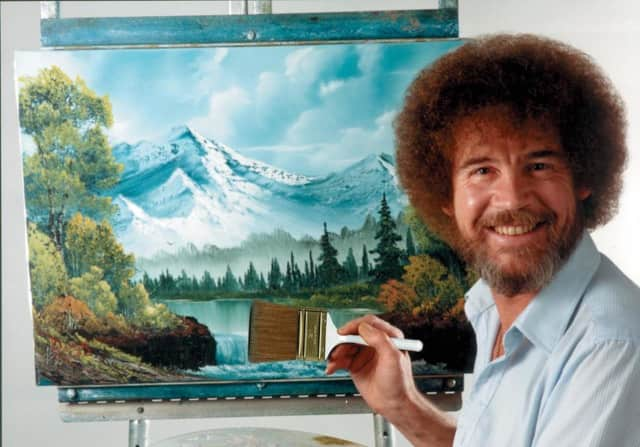 Paint 'happy little trees' with a Bob Ross certified instructor, in a class hosted by the Lyndhurst Emergency Squad on Oct. 11.