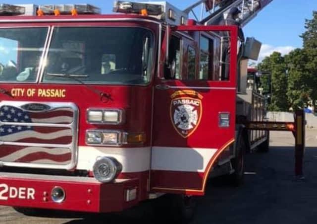 Passaic fire truck