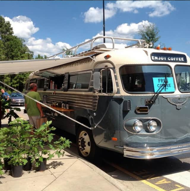 Allegro Coffee Company's vintage coffee bus will stop at Whole Foods Paramus on Oct. 20 before continuing on its national coffee tour.
