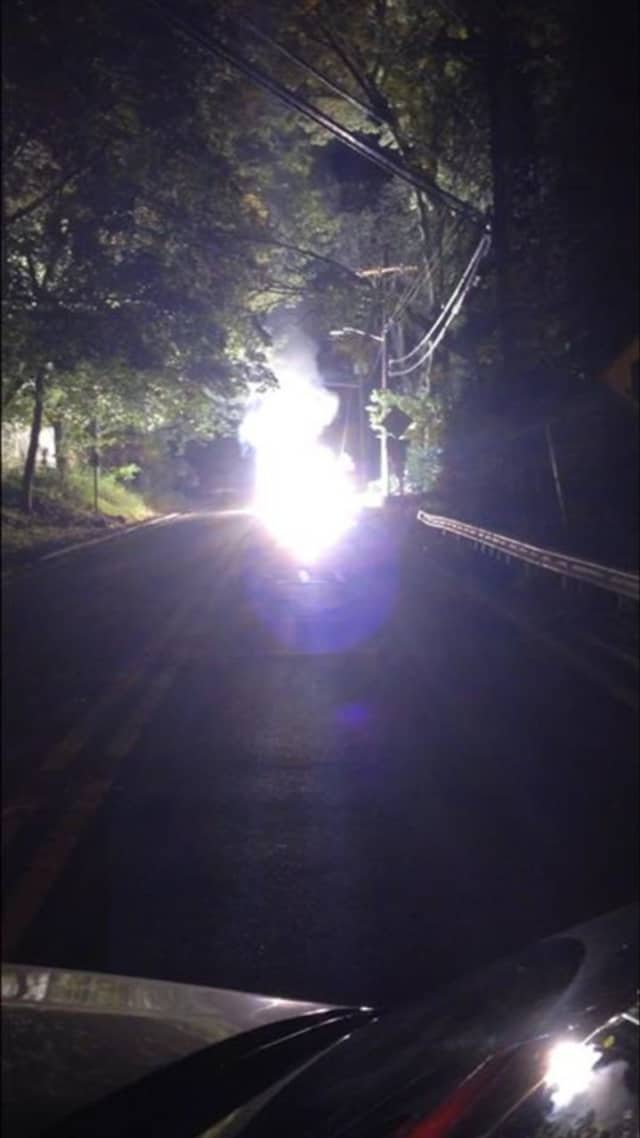 A transformer fire caused power outages in Ridgewood Saturday morning.