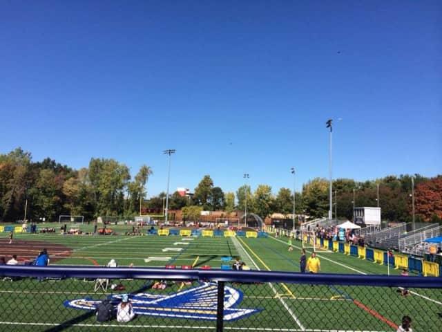 Veterans Field.