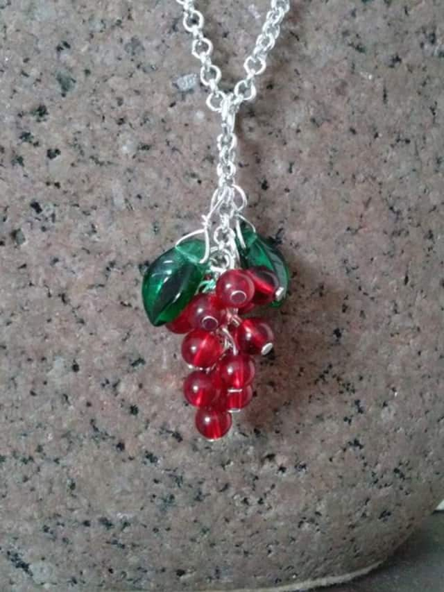 Create a necklace with Karen Valido at the West Nyack Free Library on Nov. 18.