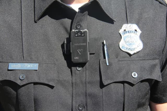 Wolfcom is one of several manufacturers of body-worn police cameras. Greenburgh officials announced recently that they'd outfit their police with cameras.