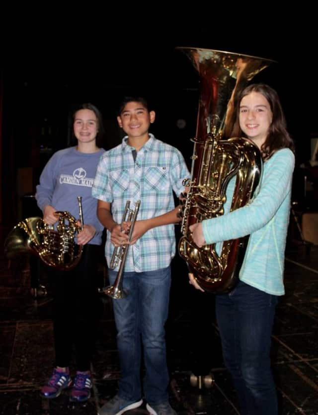 Sleepy Hollow Middle School students Sarah Clayton, Devin Batheja and Lucy Rogers have been accepted to perform in the New York State Band Directors Association Middle School Honor Concert Band.