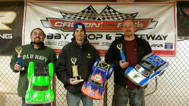 Race enthusiasts earn prizes and have a change to check out the Waldwick venue's new track.