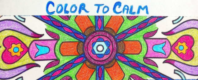 """""""Color to Calm - An Evening of Coloring for Grownups"""" will be Nov. 13 (tomorrow), from 6:30 - 8:30 p.m., at Artists' Collective of Hyde Park."""