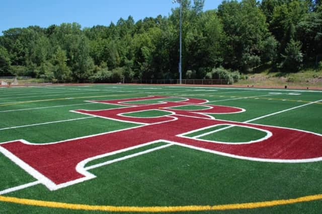 Don Bosco Prep football field.