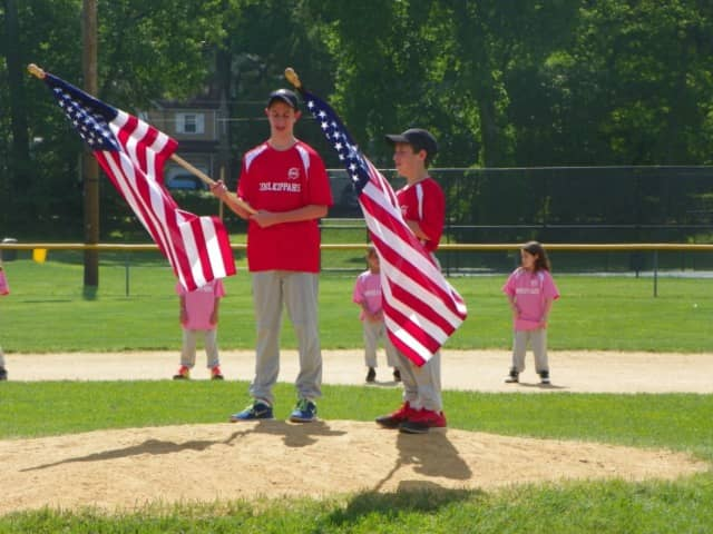 The 12-and-under travel team of the Teaneck Baseball Organization won its league championship.