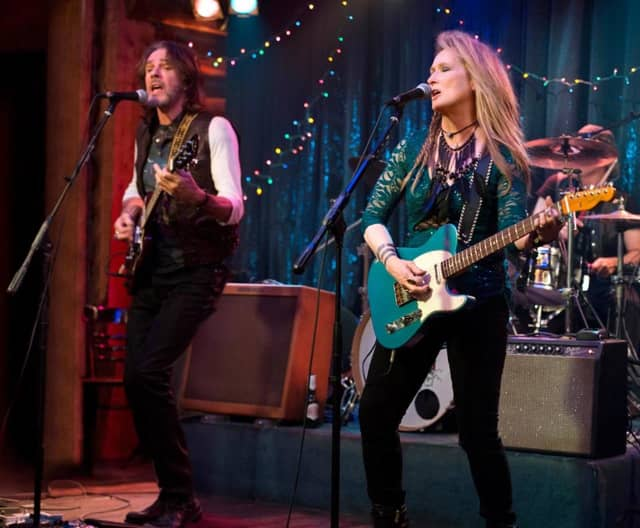 "Meryl Streep stars as a rocker in ""Ricki and the Flash"" at the River Edge Library."