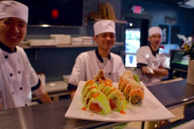 Blu Sushi holds its grand opening in Ridgewood on Thursday, Dec. 1.