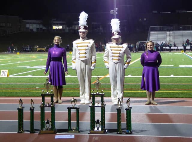 The Ridgewood High School Marching Band is competing Oct. 31 in the state championships.