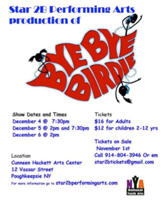 """""""Bye Bye Birdie"""" will run Dec. 4 to 6 at the Cunneen Hackett Arts Center."""