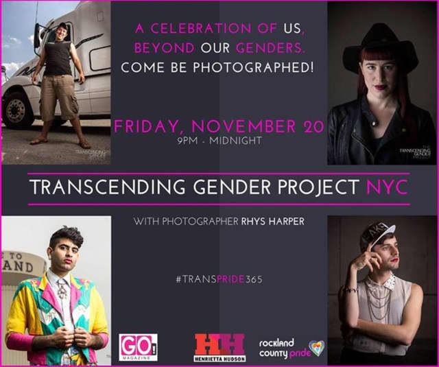 For Transgender Awareness Month, there are many activities taking place.