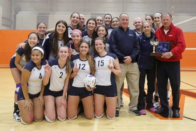 Northern Valley Regional High School at Old Tappan girls volleyball team takes pride in its special season.