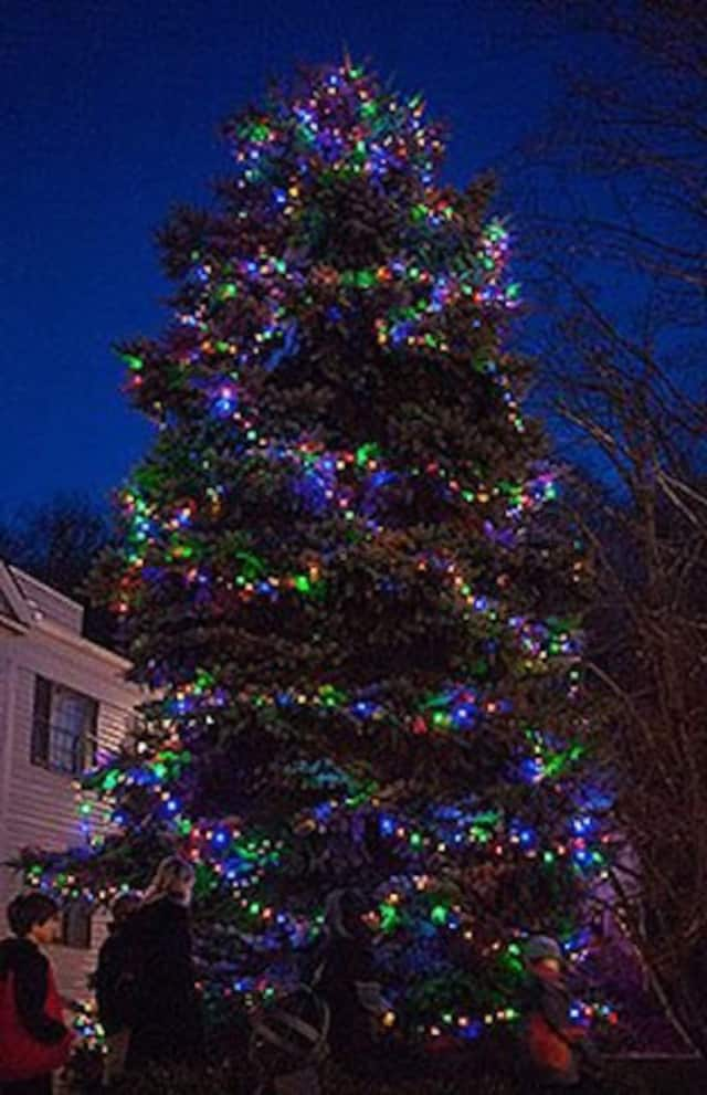 The New Castle Historical Society's Tree Lighting celebration is Saturday, Dec. 3.