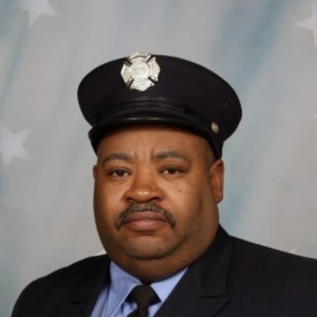 Stamford Firefighter Richard Saunders