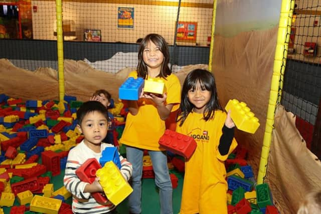 """LEGOLAND Discovery Center Westchester in Yonkers will have a sneak-peak premiere of a new LEGO 4D short movie, """"A New Adventure"""" for pass members on Feb. 6."""