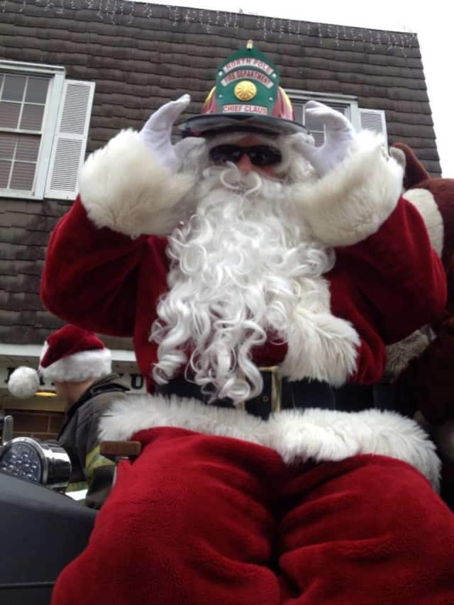 Santa Claus will be passing out some goodies as he travels around Paramus.