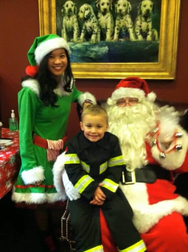 Santa is coming to Ramsey FD.
